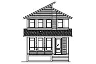 Lombard Craftsman new home design in southeast edmonton